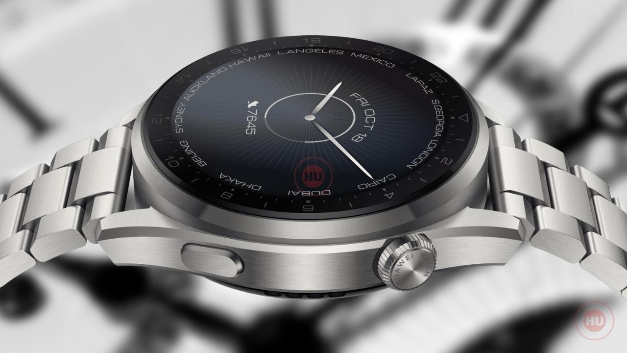 Huawei Watch 3 Pro - HU