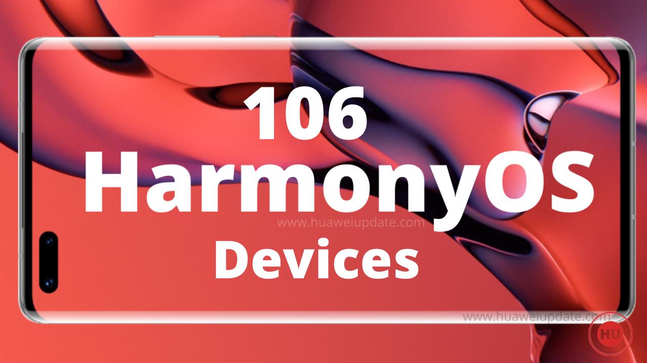 106 HarmonyOS Devices