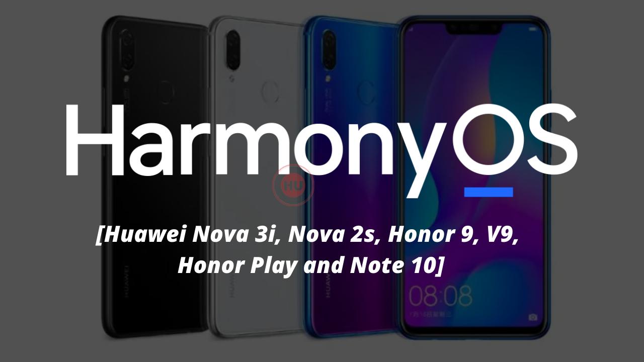 HarmonyOS 2 closed beta recruitment eligible devices