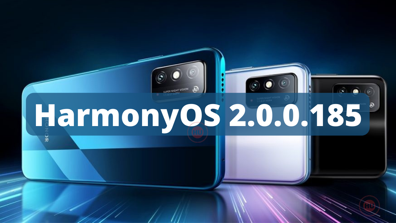 HarmonyOS 2.0.0.185
