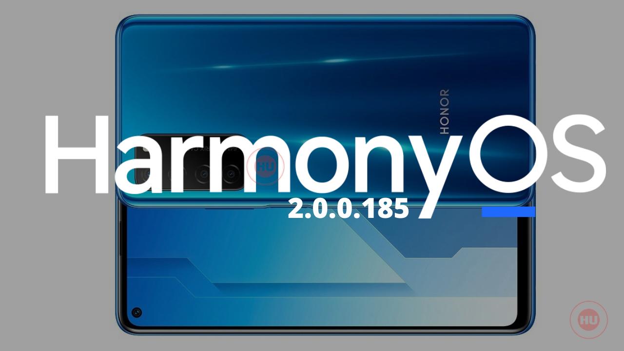 Honor Play 4 HarmonyOS 2.0.0.185