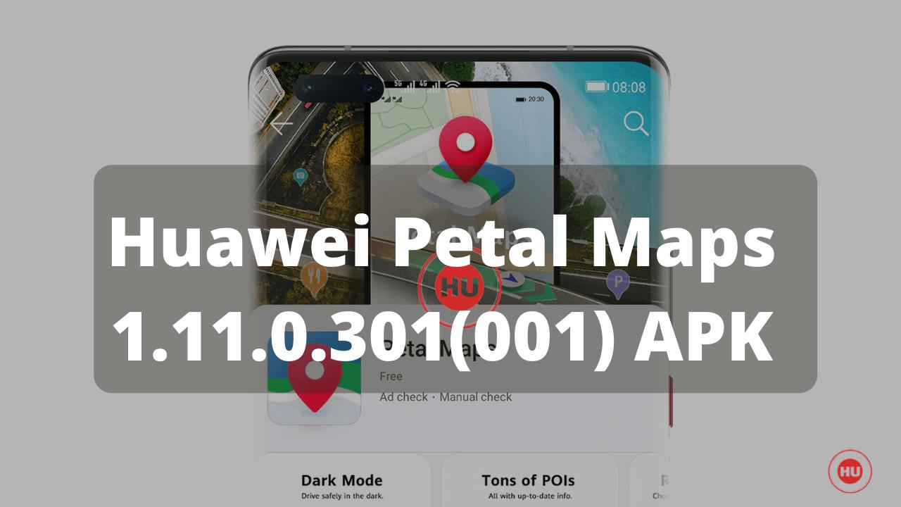 Huawei Petal Maps 1.11.0.301(001) APK