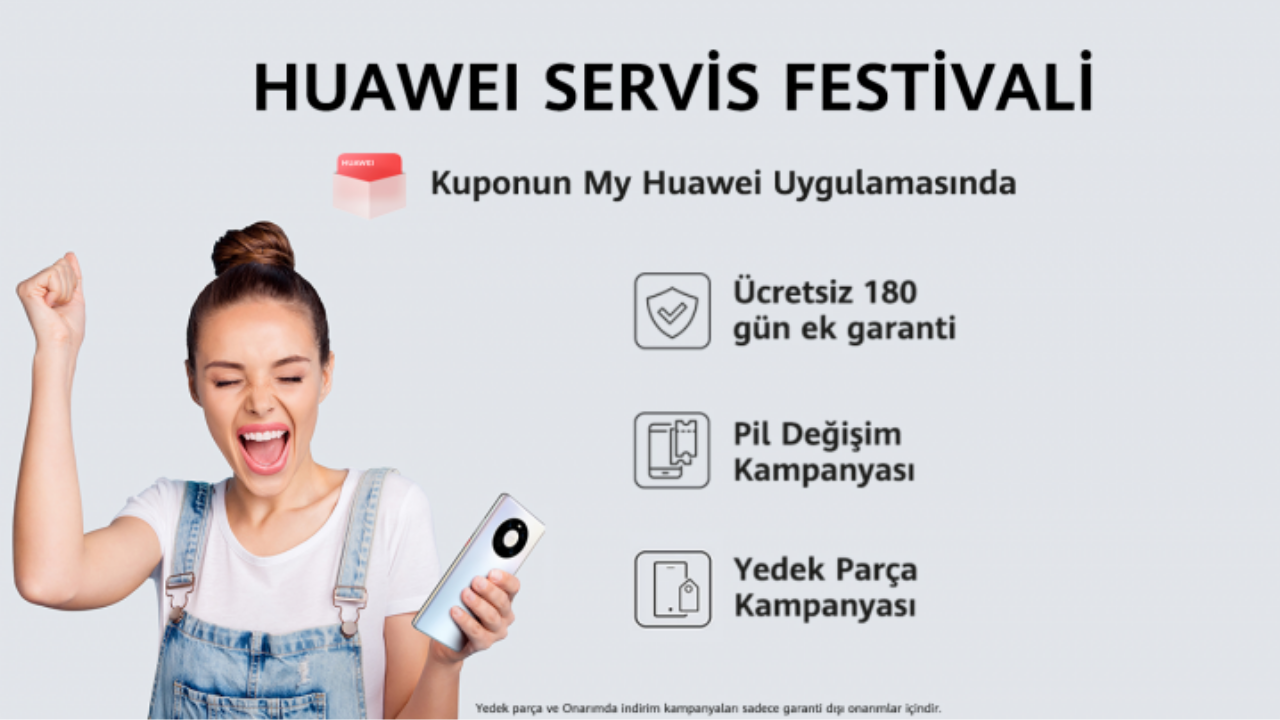 Huawei Service Festival Campaign Begins