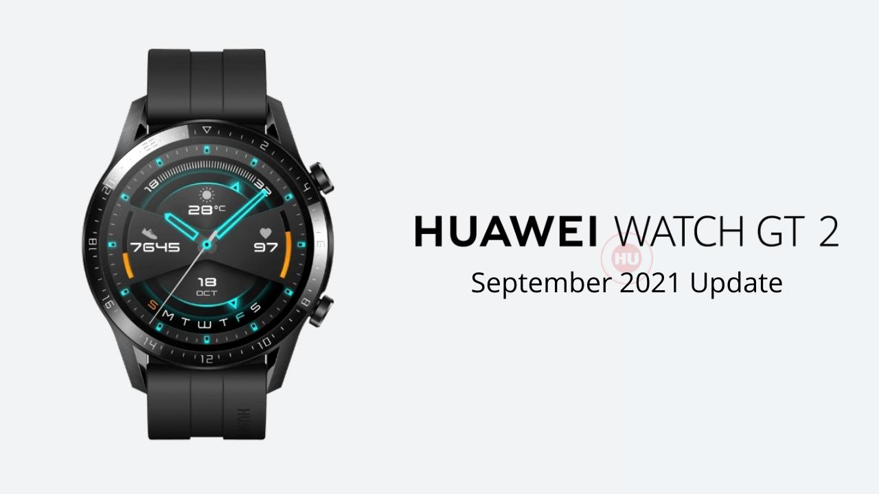 Huawei Watch GT 2 46mm getting September 2021 update