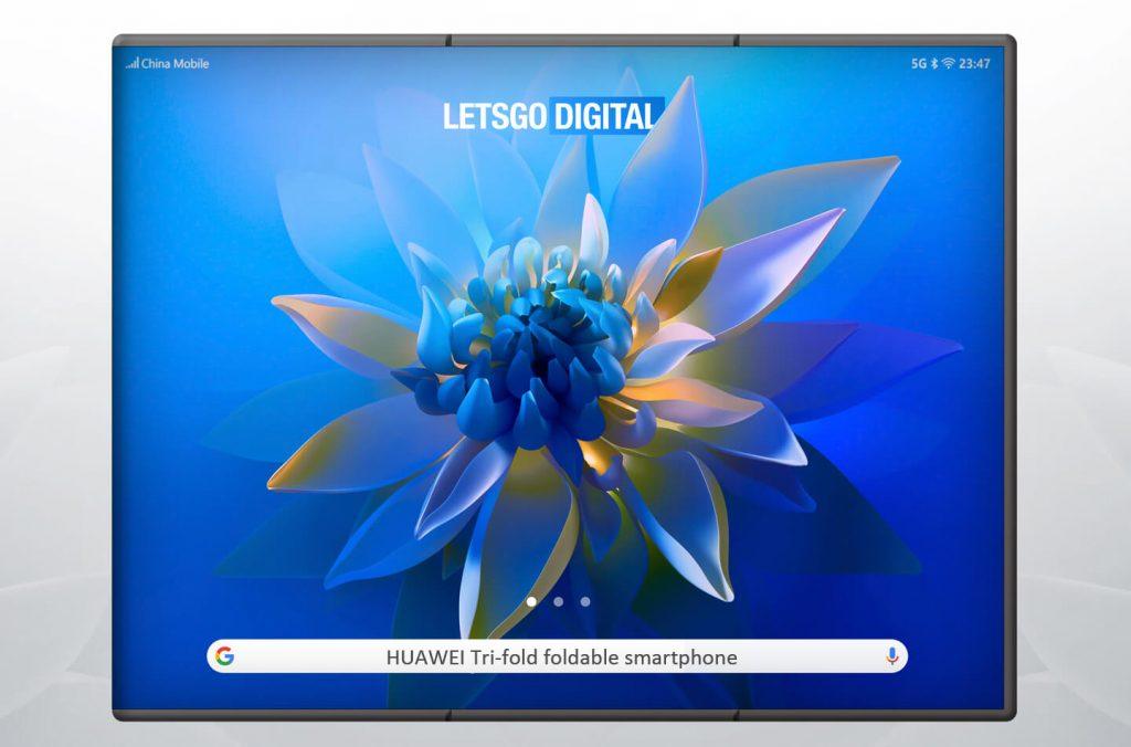 Huawei foldable smartphone with tri-fold display (2)