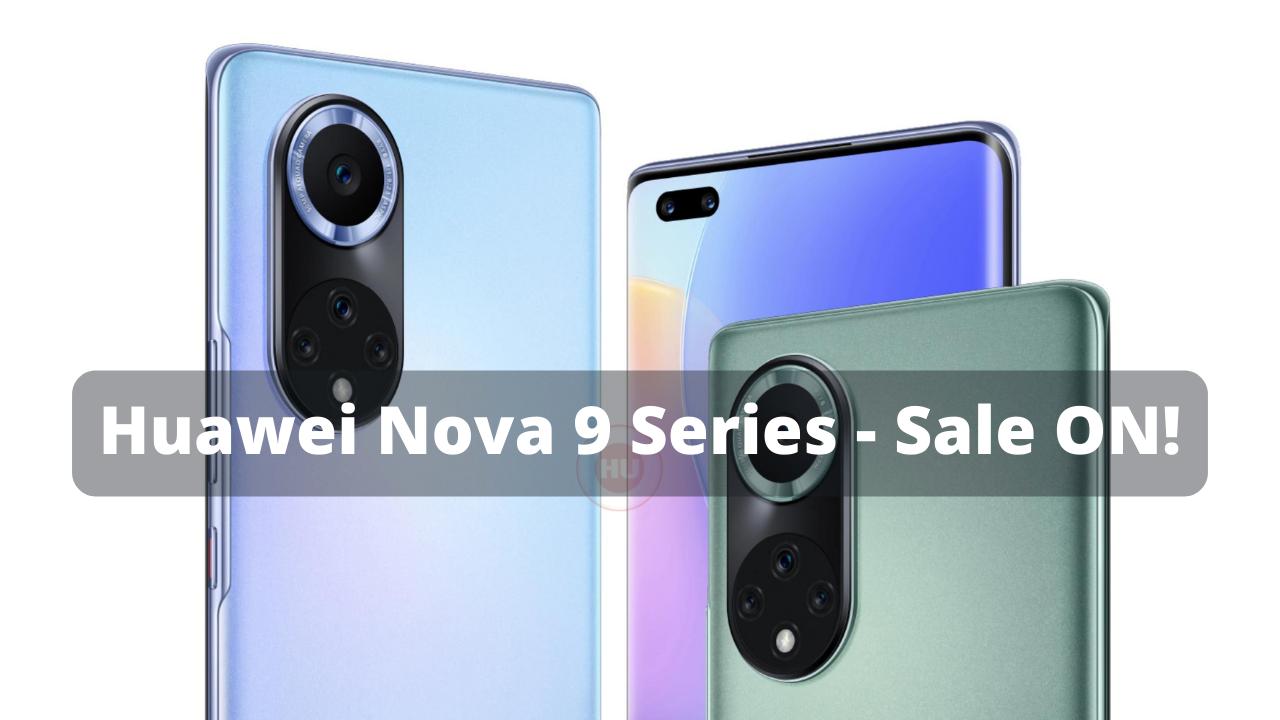 Nova 9 Series Sale