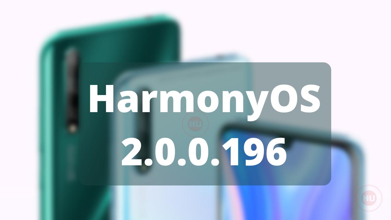 HarmonyOS 2.0.0.196