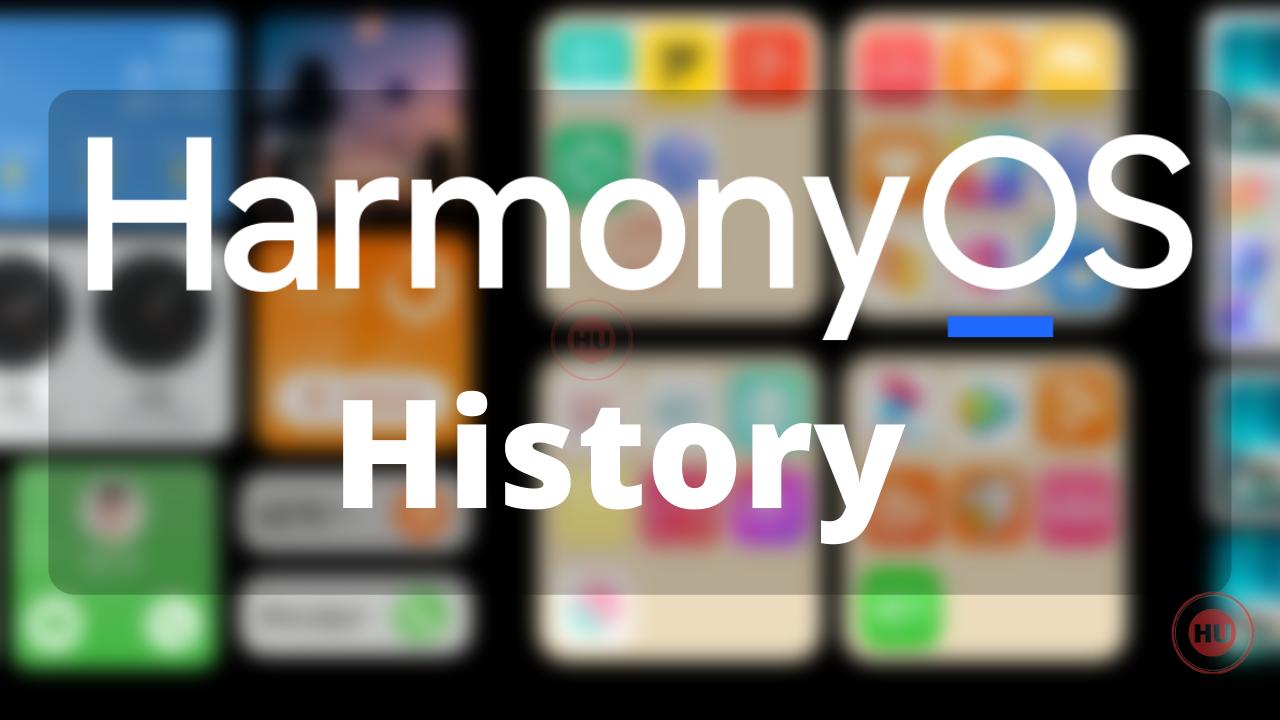 History Of HarmonyOS
