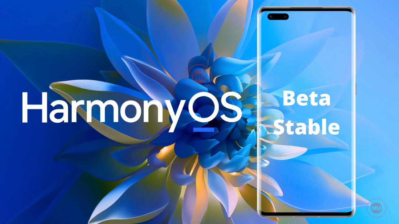 Huawei HarmonyOS Update Status - Beta and stable