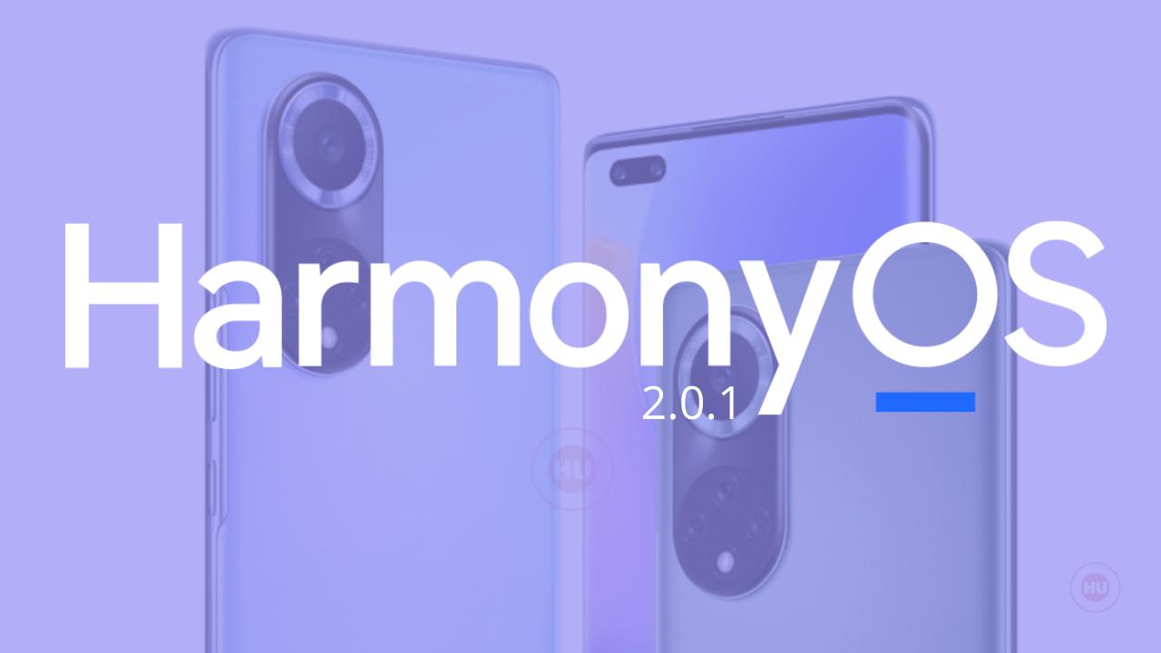 Nova 9 Series HarmonyOS 2.0.1