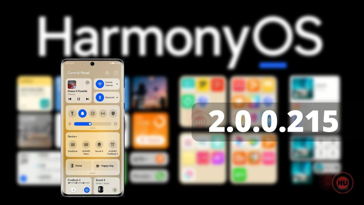 P50 Pro HarmonyOS 2.0.0.215